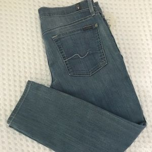7 for all mankind Roxanne crop NWT size 32